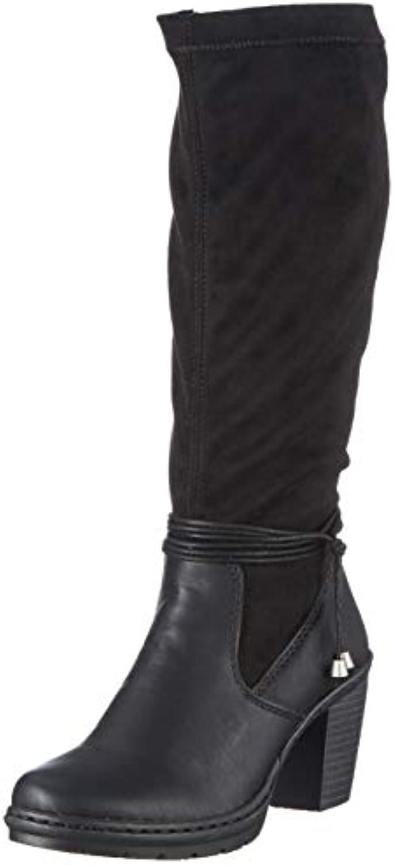 Donna  Uomo Rieker Y1558, Stivali Alti Donna Forma elegante Moda attraente Festa di marca | Regalo ideale per tutte le occasioni  | Uomo/Donne Scarpa