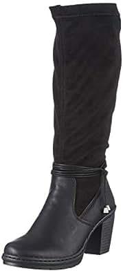 Rieker Damen Y1558 Hohe Stiefel, (Schwarz 00), 37 EU