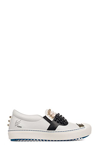 fendi-womens-8e60056vqf01cn-white-leather-slip-on-sneakers
