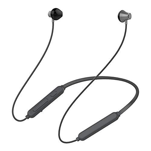 KCJMM Bluetooth-Headset, kabelloses Headset, Bluetooth 4.0 Leichtes Stereo-Headset, Sport-Headset und integriertes Mikrofon, grau