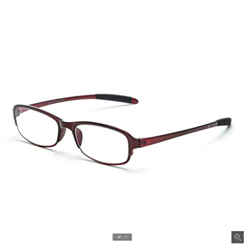 Lesebrille Ultra Leichte Mode Bequeme Elegante Alte Einfache HD-Sehbrille (Farbe : 300°) - 300 Lesebrille