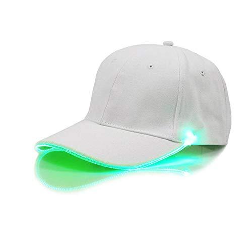 JIALONGZI Leuchten Sie Hut, LED Leuchten Sie Baseballmütze für Musik-Festival-Party-Sport