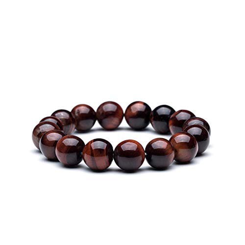 us Glasperlen, Natural Stone Beads Bracelet Charm 12Mm Tiger Eye & Bangle Mew Lava Natural Stone Bracelet for Men Beads Men's Bracelets B020267 ()