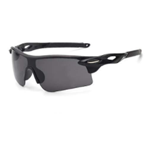 xinrongqu Sonnenbrille - Driver Night Vision Mirrors Mirrors Sonnenbrille Radsportbrille Schwarzer Rahmen Schwarze Beine Grau