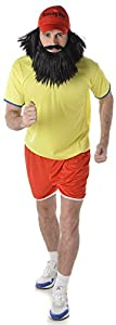 Karnival Costumes- Long Distance Runner Disfraz, Multicolor, extra-large (82015)
