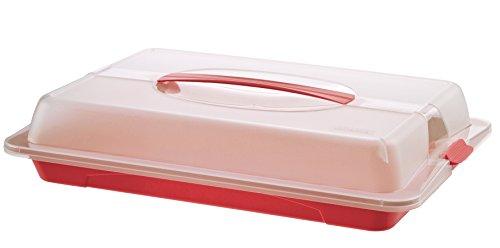 rotho partybutler john gro e lebensmittel transportbox aus kunststoff pp mit deckel und. Black Bedroom Furniture Sets. Home Design Ideas