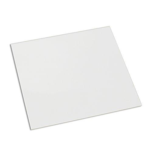 Signstek 1 PCS Borosilikatglas Heizbett Druckbet für Heatbed MK2/MK3 3D Drucker 213*200*3mm