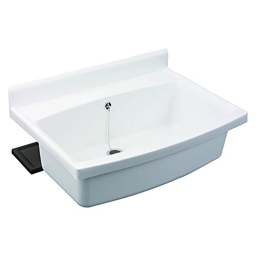 SANIT maxi Becken mit Überlauf weiß