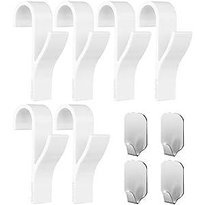 Appendini per termoarredo - 6 pezzi di Appendini per termoarredo, 6 pezzi di Ganci Adesivi per Asciugamani in Acciaio… 6 spesavip