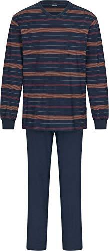Ammann Herren-Schlafanzug Single-Jersey Marine Größe 106