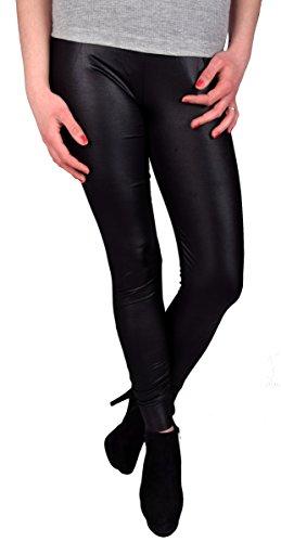 damen-leggings-in-glanz-leder-look-schwarz-lang-universalgrosse-s-xl-gerafft