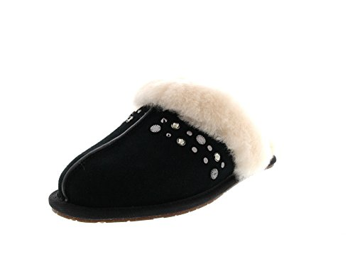 UGG - SCUFFETTE II STUDDED BLING - black