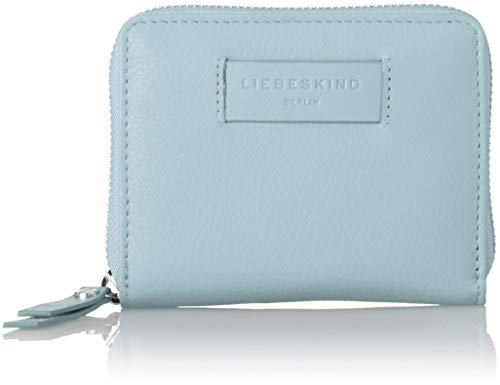 Liebeskind Berlin Damen Essential Conny Wallet Medium Geldbörse, Blau (Light Blue Mist), 3x11x13 cm