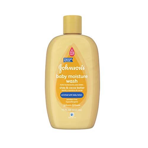 Johnson\'s Baby Shea & Kakaobutter Feuchtigkeitspflege für weiche Haut, 450 ml (2 Stück)