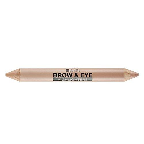 Milani Brow und Eye Highlighters - matte beige/high glow, 1er Pack (1 x 1 Stück)