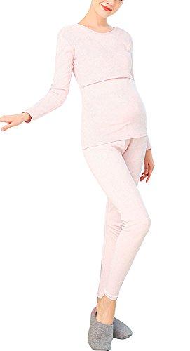 Frauen Schwangere Kompressionssocken, Schwanger Strumpfhosen Bein Socken - Glatt Kniehöhe Professionell -