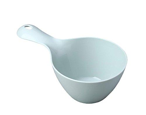 Cuenco de aguaMaruis, para baño, diseño de cuchara azul azul claro
