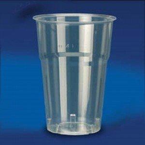 Pz 300 bicchieri in plastica ml 400 per acqua birre for Bicchieri birra prezzi