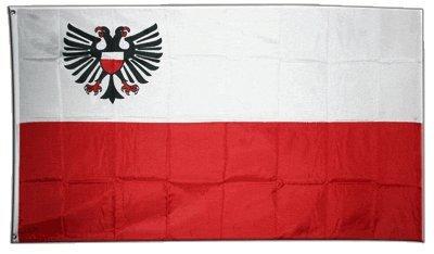 Flagge Deutschland Stadt Lübeck - 90 x 150 cm