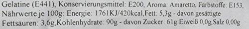 Rollfondant Amaretto Schwarz 250g