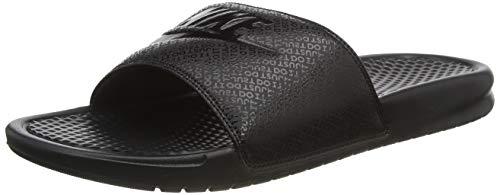 Nike Benassi Jdi, Chanclas Unisex Adulto, Negro Black/Black/Black, 45 EU