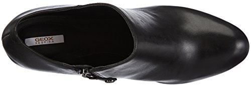 Geox D MARIELE PLAT H Damen Kurzschaft Stiefel Schwarz (Blackc9999)