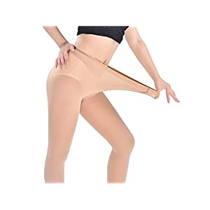 HFjingjing Sexy Kleidung Strumpfhosen Frauen Sexy Bodenbildung Strümpfe Nude Sexy Nahtlose Strumpfwaren Mittlere Taille Sheers Strumpfhosen Strumpfhosen_Komplex Cosplay Kostüm
