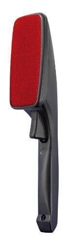 WENKO 4823750100 Kleiderbürste Twist - Drehautomatik für Links- und Rechtshänder, Kunststoff - Polypropylen, 7 x 26 x 6 cm, Schwarz