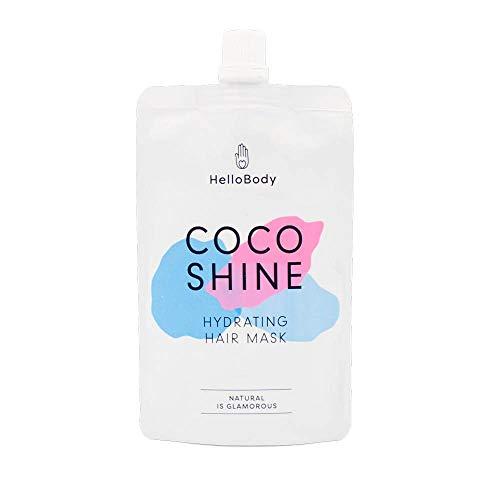 HelloBody - Masque capillaire, Coco Shine pour les cheveaux - 100ML