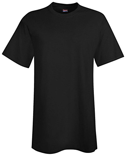 Hanes–Maglietta altezza beefy-t 4X Tall,Black