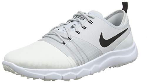 lowest price ec3e4 202c4 Nike Damen WMNS Fi Impact 3 Golfschuhe, Mehrfarbig (Summit BlackPure  PlatinumWhite 100), 38.5 EU