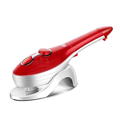Jiahe Leichte Handkleidung Steamer 880WTravel Steamer Temperatur einstellbar Garment Steamer für Zuhause/Büro/Reise (rot)