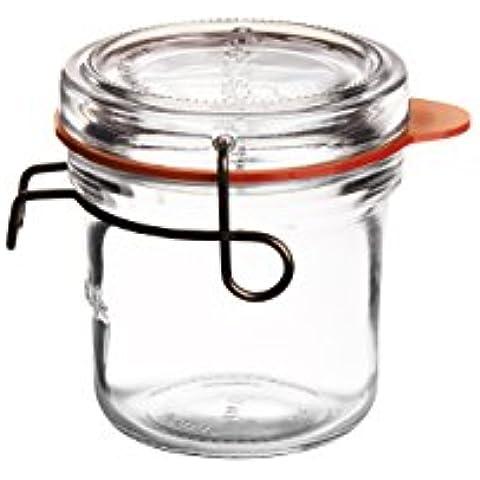 Lock–Mangiare terrina per alimenti, trasparente,