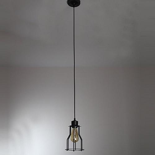 SSBY Industrielle vintage Edison in Anbetracht ihrer Kronleuchter amerikanischen Charakter Kostüm shop lange schwarze Witwe Anhänger Lampenschirm Durchmesser 150*250mm , (Kostüme Witwe)