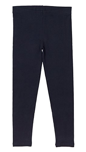 Kinder Leggings Baumwolle Dunkelblau-134/140