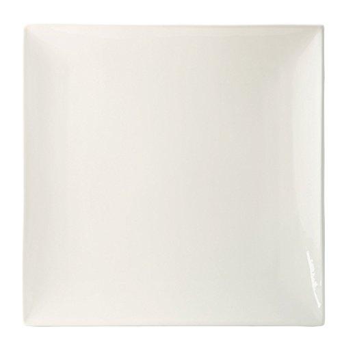 Utopia Anton Noir en porcelaine fine Z07038-000000-b01006 Fusion Assiette, 15,2 cm (lot de 6)
