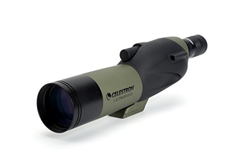 Celestron Ultima 65 18 to 55 x 65 Straight Spotting Scope  available at amazon for Rs.23649