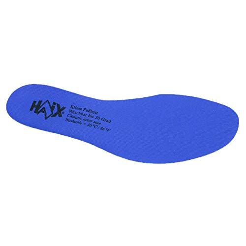 Haix - solette intercambiabili per scarpe airpower c, inserti per proteggere i piedi, suola blu, suola per scarpe, inserto, blu