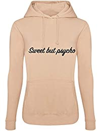 7095a41fa SMG® Ladies Sweet But Psycho Printed Womens Hoodie Size 8-18