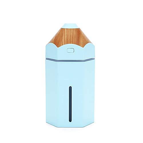 Beito 1PC Lápiz humidificador Azul 230 ml de Ministerio del Interior Mini USB de Vapor frío LED difusor del purificador