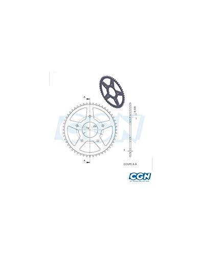 Couronne Moto 17 Adapt. xr7/nk7/xp7 SM/xps 05-08/rrx Spike/SMX (48dts) d62/ 5 Fix