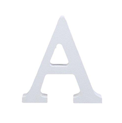 Cosanter Letras Madera de Color Blanco para Decorar en Boda/Fiesta