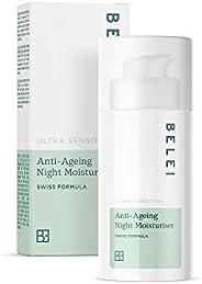 Amazon-Marke: Belei – Ultra sensible, feuchtigkeitsspendende Anti-Ageing-Nachtcreme, 50 ml