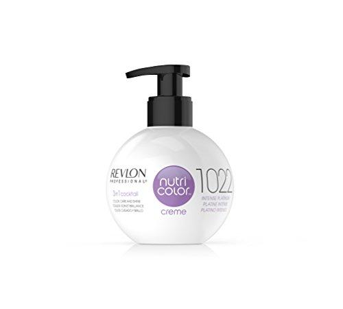 REVLON PROFESSIONAL Nutri Color Crème, Nr. 1022 Intense Platinum, 1er Pack (1 x 270 ml) - Revlon Creme