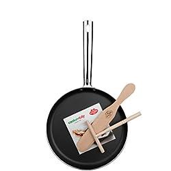 Ballarini 20205A.25 - Juego de sartén y accesorios para crepes, 25 cm