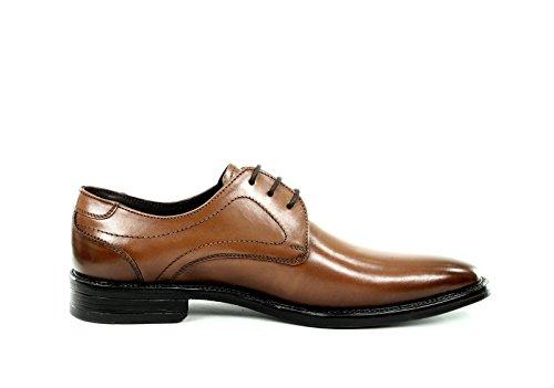 SERGIO RIZZI , Chaussures de ville à lacets pour homme Marrón