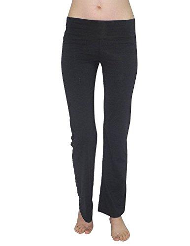 bally-total-fitness-femmes-comfortable-pantalons-salon-casual-usure-yoga-s-noir