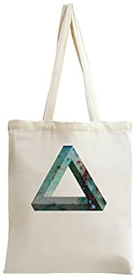 3D Cosmic Triangle Tote Bag