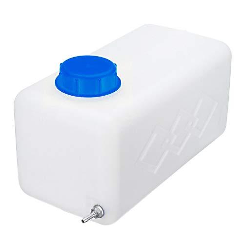 HOTEU - Depósito de combustible portátil de plástico para coche, 5,5 L, para gasolina diésel