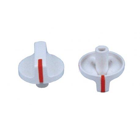 Mando grifo gas encimera Balay blanco diametro Eje 6 mm E-3130 3132...